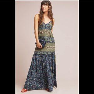 ‼️NWT Anthropologie Larissa Maxi Dress LP‼️